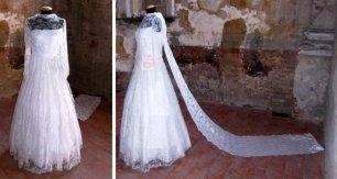 abito da sposa Rif. 1