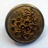 """bottone oro fiori-""""La Camelia Collezioni"""""""