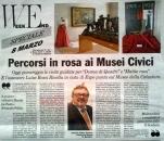 articolo Informatore - donne di quadri dal 3 al 25 marzo 2012