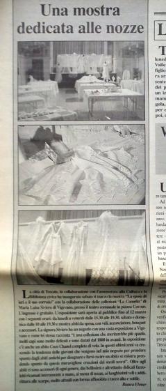 articolo nozze