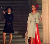Audrey Hepburn e Grace Kelly - giorno