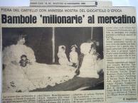 Casale Monferrato 1989 - articolo bambole