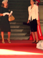 Ingrid Bergman e Katharine Hepburn - giorno