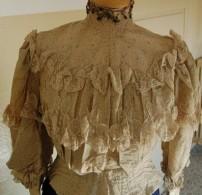 camicia domenicale da parata fine 1800