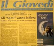Fiera Esposi 1996 con Simona Ventura