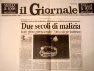 """Articolo su """"il giornale"""" anno 1996-la malizia sotto la veletta"""