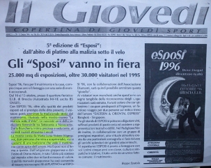 Il Giovedì Brescia anno 1996 - Esposi 1996