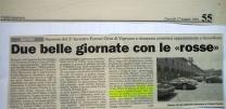 Informatore anno 2001 - sfilata Ferrari