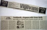 Informatore anno 2008 - articolo sfilata Grace Kelly