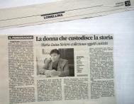 La Provincia Pavese anno 2005-articolo collezione