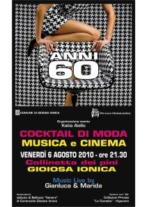 """Gioiosa Ionica (RC) - Locandina sfilata """"Cocktail di moda musica e cinema"""""""