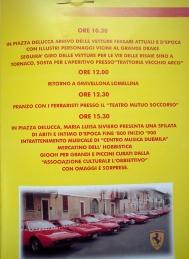 Locandina Incontro Ferrari 2001