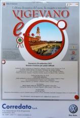 """Locandina """"Vigevano è"""" - 25 settembre 2011"""