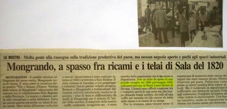 Mongrando 1998 - mostra ricami