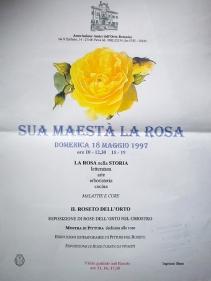 Orto Botanico di Pavia anno 1997 - mostra