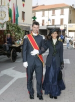 """palio di mede 2009 - abiti e accessori """"La Camelia Collezioni"""""""