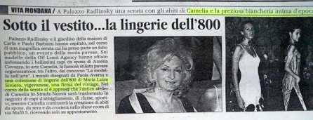 Pavia 2005 - sfilata lingerie