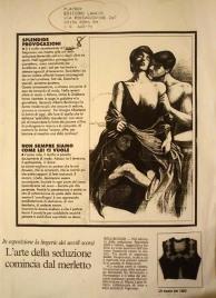 """Articolo su """"playboy"""", anno 1996-la malizia sotto la veletta"""