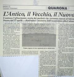 Quarona 1993 - articolo merletti