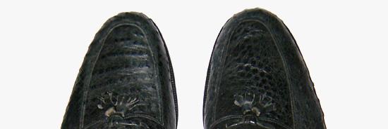 scarpa uomo in pecary - mocassino uomo in pecary A. pfister - la camelia collezioni