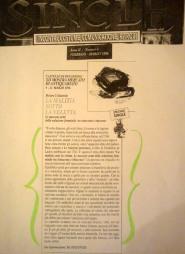 """Articolo su """"single"""", anno 1996-la malizia sotto la veletta"""