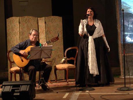 soprano e scenografia
