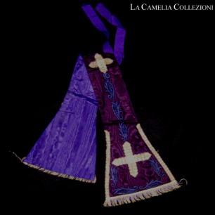 stola liturgica viola - la camelia collezioni