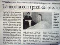 Trecate anno 2006 - mostra sposa e pizzi