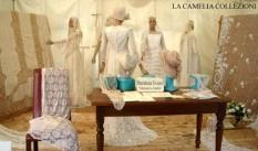 vestiti da sposa allestimento esterno - la camelia collezioni