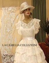 vestiti da sposa retrò con velo e cappello - la camelia collezioni