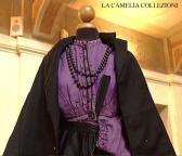 vestito da sposa nero epoca 800 - la camelia collezioni