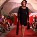 vestito nero corto in pizzo anni 60