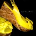 scarpe-anni-70-zeppa giallo ocra-la-camelia-collezioni
