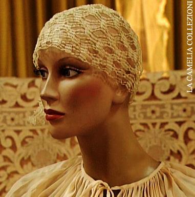Acconciatura Sposa A Cuffia Stile Charleston La Camelia