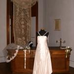 Vestito da cerimonia bianco con perline