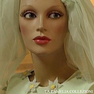velo corto da sposa - la camelia clollezioni