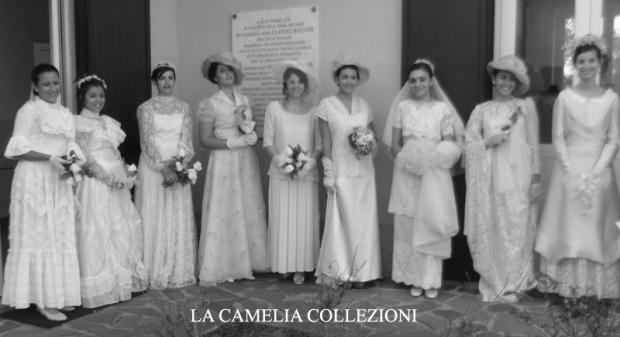 vestiti da sposa d'epoca - la camelia collezioni