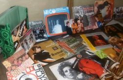 dischi in vinile 45 giri, autografi
