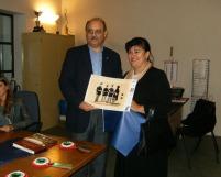 """Ringraziamento """"Progetto 150°"""" Vigevano - Palazzo Merula 15 ottobre 2011"""