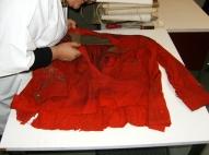 """prima del restauro - giubba garibaldina - """"La Camelia Collezioni"""""""
