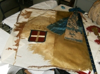 """bandiera recupero tessile - """"La Camelia Collezioni"""""""