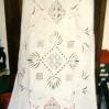 Tendaggio in lino antico mt. 1,20 x 2,60