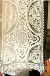 Tendaggio in lino – ricamo Richeliau – mt 1,60 x 2,60