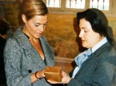 """ Esposi 1996 "" Brescia - madrina Simona Ventura madrina"