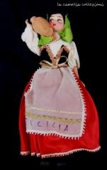 bambola souvenir sicilia - la camelia collezioni