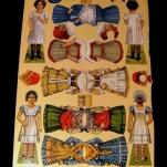 bambole di carta - la camelia collezioni
