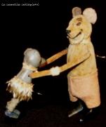 gioco a molla forma topolino - la camelia collezioni