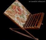 sedia vintage da gioco per bimbe - la camelia collezioni