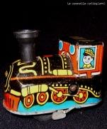 trenino in latta locomotiva - la camelia collezioni