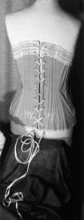bustino - corsetto modellante con stringatura